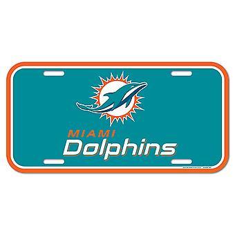 لوحة ترخيص وينكرافت NFL - ميامي دولفينز