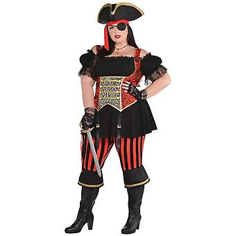Amscan Lady Pirate Adult Costume (Babies and Children , Costumes)