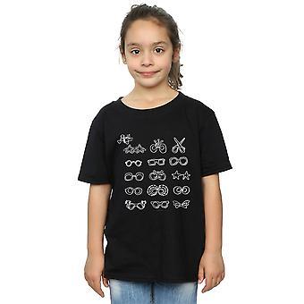 Elton John Girls Glasses Collection T-Shirt