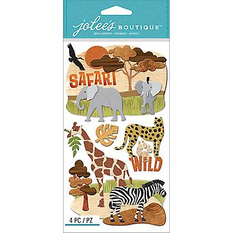Jolee's Boutique Dimensional Stickers Safari E5050640