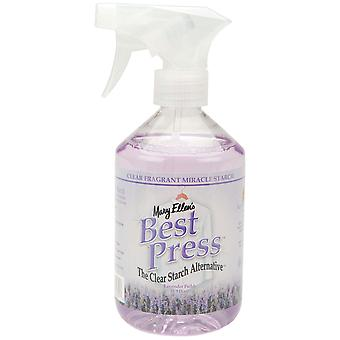 Mary Ellen's Best Press Clear Starch Alternative 16 Ounces Lavender Fields 600Bp 31