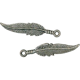 Feather Charms 1 9 16
