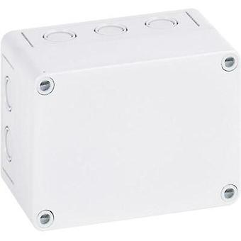 Build-in casing 94 x 94 x 57 Polystyrene (EPS) Light grey (RAL 7035) Spelsberg PS 99-6-m 1 pc(s)