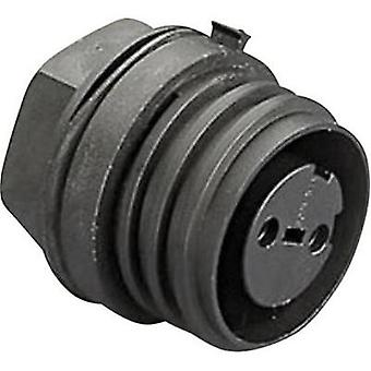 Bulgin PX0931/04/S - 4 Pole IP68 Socket Connector, 900 Series Buccaneer, Panel Mount, 32A
