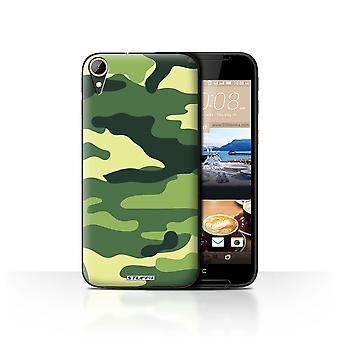 STUFF4 Case/Cover für HTC Desire 830/Grün 2/Camouflage Army Navy