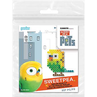 Perler Secret Life Of Pets Fused Bead Kit-Sweetpea SLOPTK80-53023