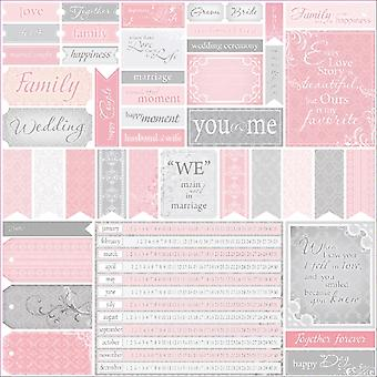 ScrapBerry's Wedding Single-Sided Cardstock 12
