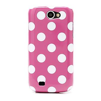 Protective case for mobile Samsung Galaxy GT-I8150 W pink