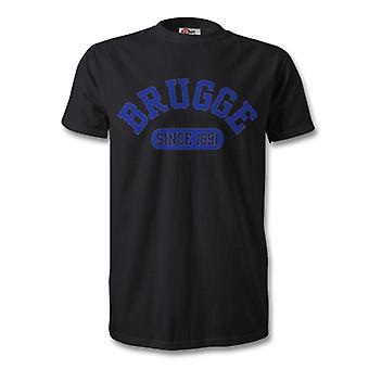 Club Brugge 1891 Established Football Kids T-Shirt