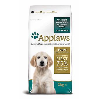 Applaws hund tør Puppy Small/medium Breed kylling 2kg