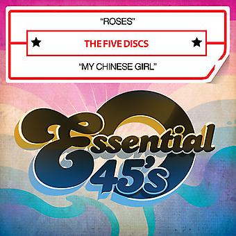 Five Discs - Roses / My Chinese Girl USA import