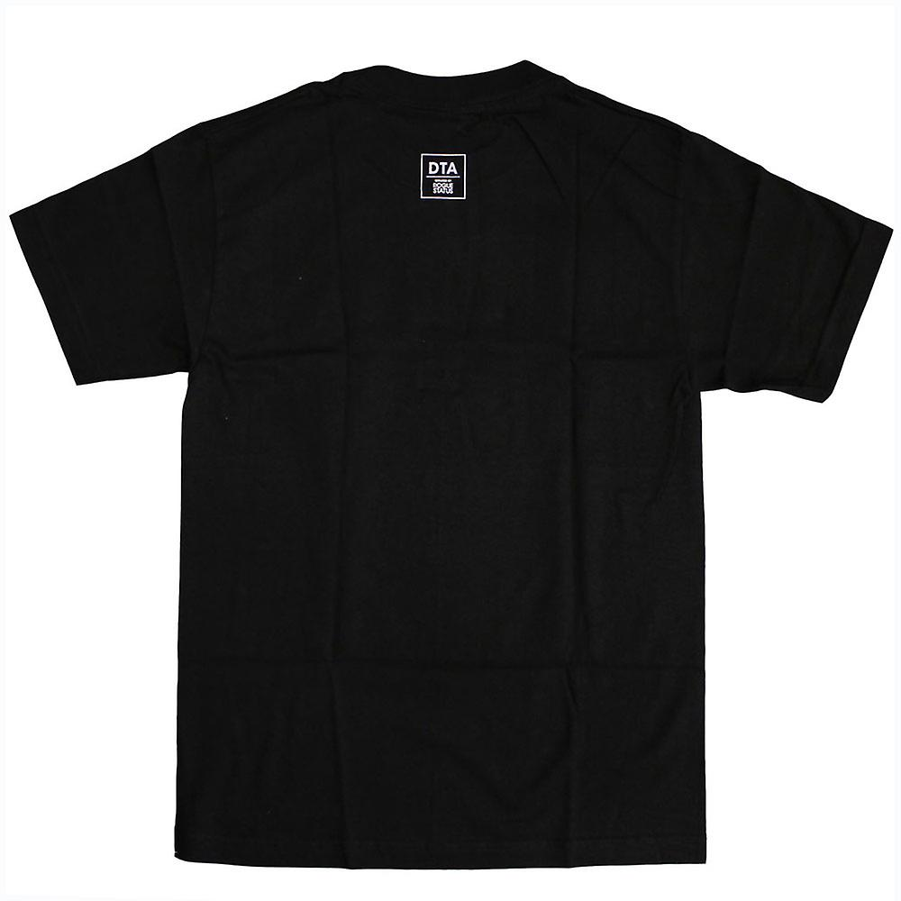 DTA RS Chain Crest T-shirt Black White