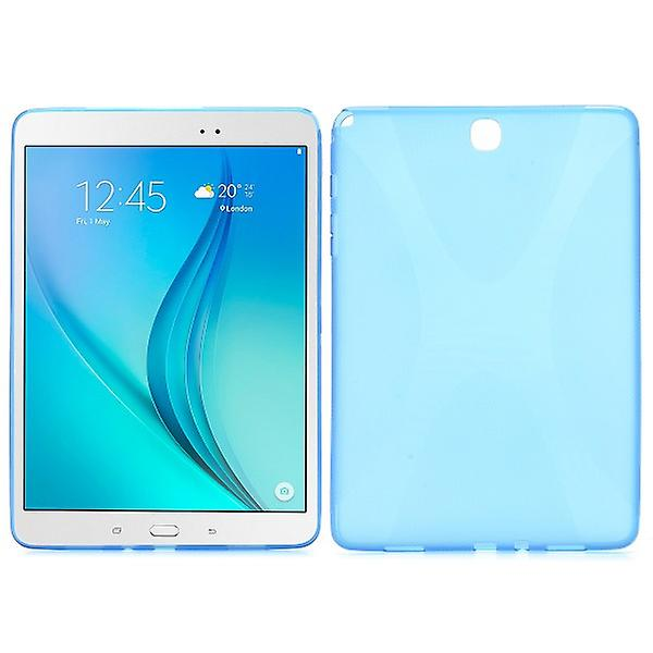 Silicone case blue for Samsung Galaxy tab A 9.7 T550 T551 T555 N