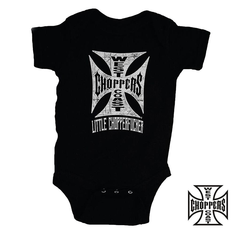 West Coast choppers onesie little Chopperfucker baby Creeper
