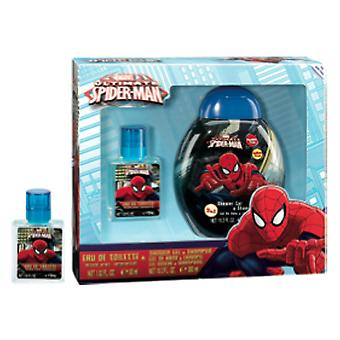 Spiderman In September 300Ml Edt 30ml + Gel (Children , Perfume)