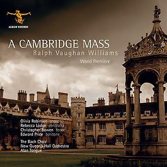 Vaughan Williams / Robinson / indgive / Bach kor - Cambridge Mass [CD] USA import