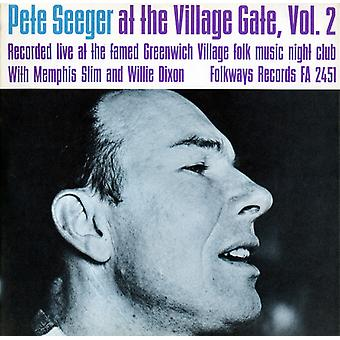 Pete Seeger - Pete Seeger im Village Gate mit Memphis Slim [CD] USA import