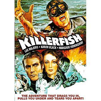 Killer fisk [DVD] USA importerer