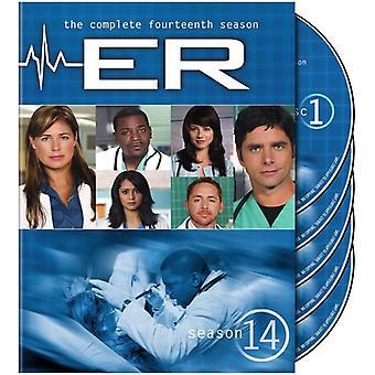 ER - ER: Season 14 [DVD] USA import