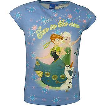 Meisjes Disney Frozen Elsa & Anna korte mouwen Top