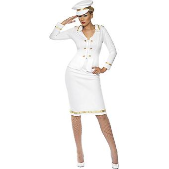 Captain costume for ladies Captain Captain Officer Officer Navy uniform