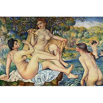 Pierre Auguste Renoir - Women by the Water Poster Print Giclee