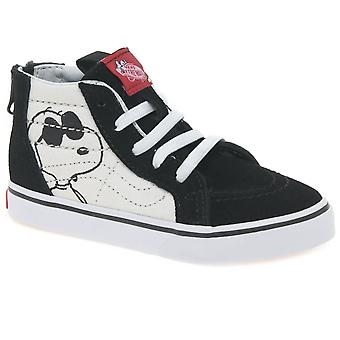 Vans Joe Cool Kinder Kleinkind Hallo Top Leinenschuhe