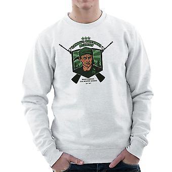 Sarges Survival Academy Platoon Sergeant Barnes Men's Sweatshirt