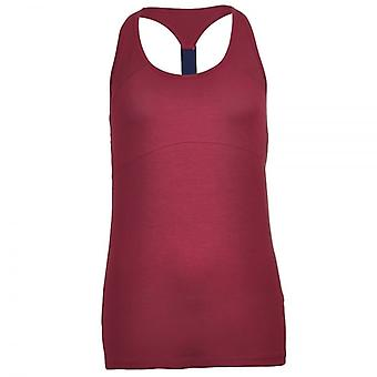 Tommy Hilfiger Women Womens Fitness Tank Top, Red, Large