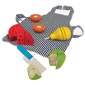 Bigjigs Toys Cutting Fruit Chef Set
