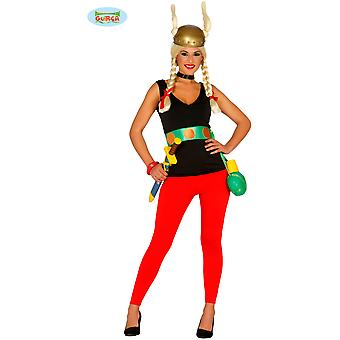 Women costumes  Gallier Lady costume Asterix