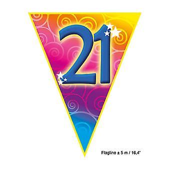 Party favors  Flagline '21' 5m