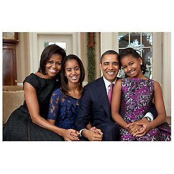 The First Family The Obamas Poster Print (17 x 11)
