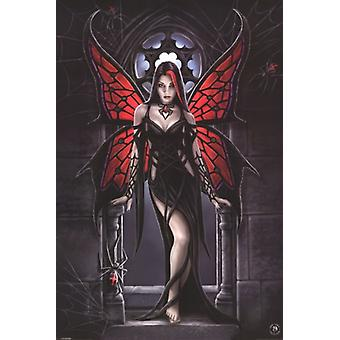 Anne Stokes Aracnafaria Fairy Poster Poster Print