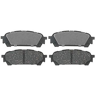 ACDelco 17D1004C Professional Ceramic Rear Disc Brake Pad Set