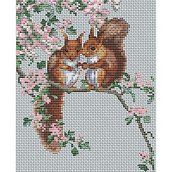 The Natural World Counted Cross Stitch Kit 5.75