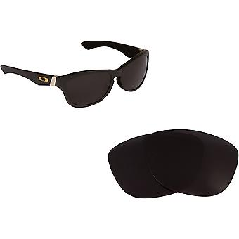 Jupiter LX Replacement Lenses Polarized Black by SEEK fits OAKLEY Sunglasses