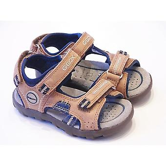Geox Boys Sandals | Geox Boys Brown Sport Sandals | Geox Planeta Size UK4 Inf / EU20