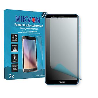 Honor 7X Screen Protector - Mikvon Armor Screen Protector (Retail Package with accessories) (intentionally smaller than the display due to its curved surface)