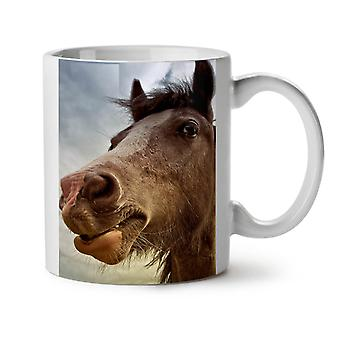 Farm Horse Photo NEW White Tea Coffee Ceramic Mug 11 oz | Wellcoda