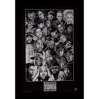 Parental Advisory Signed Poster