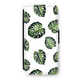 iPhone 5C Flip Case - Tropical leaves