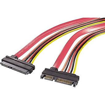 Hard drives, Current Cable extension [1x SATA plug 22-pin - 1x SATA socket 2-pin]