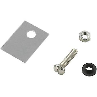 Semiconductor mounting set (L x W) 18 mm x 13 mm Suitable for TO 220 SCI