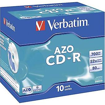 Blank CD-R 80 700 MB Verbatim 43327 10 pc(s)