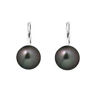 Ohrringe Perlen von Tahiti und Silber 925/1000