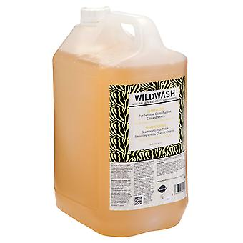 Wildwash Shampoo For Sensitive Coats, Puppies, Cats And Kittens 5L