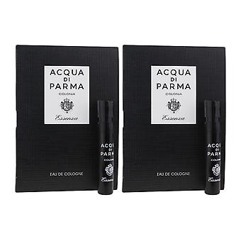 Acqua Di Parma 'Colonia Essenza' Eau De Cologne 1.2ml Vial On Card ( Pack OF 2)