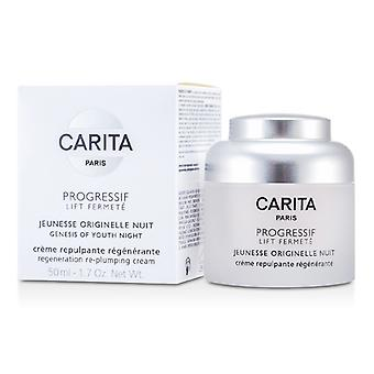 Carita Progressif Lift Fermete Genesis Of Youth Night Regenation Re-plumping Cream 50ml/1.75oz
