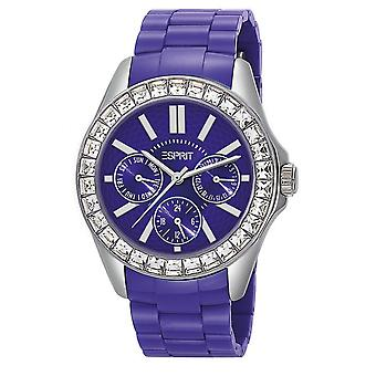 Esprit Dolce Vita Plastic Purple Watch ES105172004